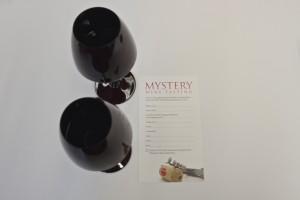 Mystery wine tasting