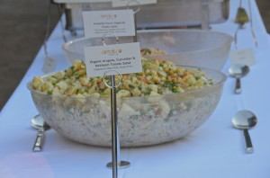 Sweetlife Farm Sieglind potato salad with fresh rosemary and garlic aioli