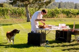 Chef Mark Filatow at work