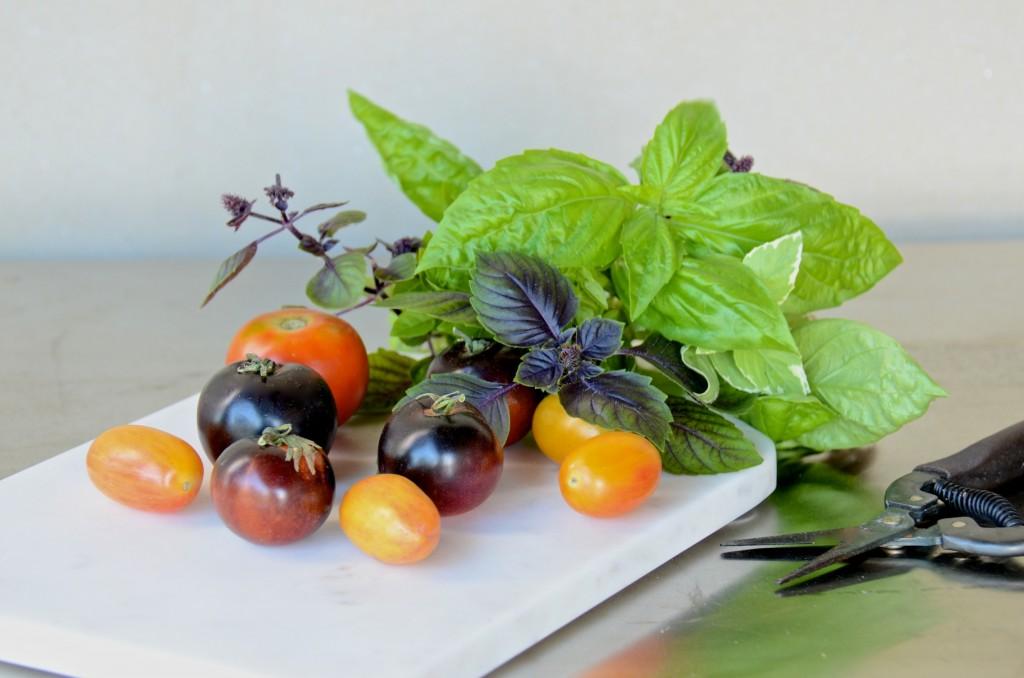 Summer heirloom tomatoes