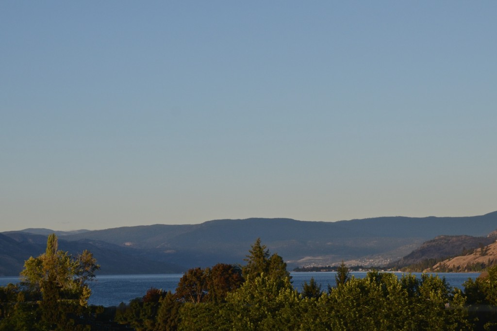 Okanagan morning scene