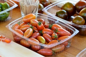 Sunshine Farm tomatoes