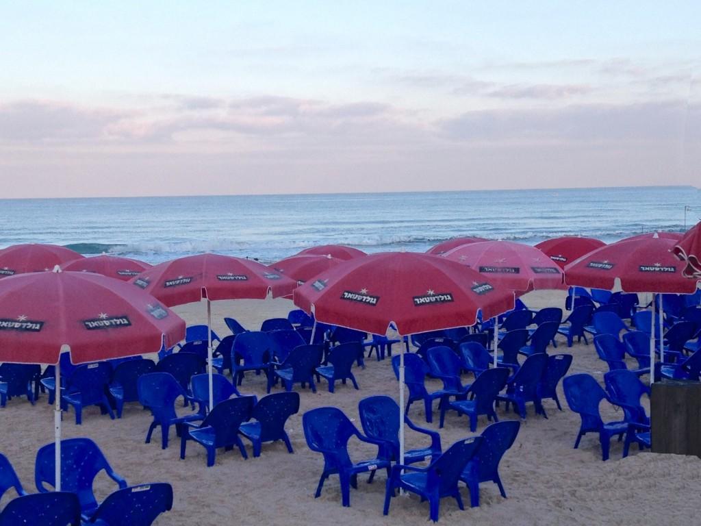 Carmel beach cafe, haifa, Israel