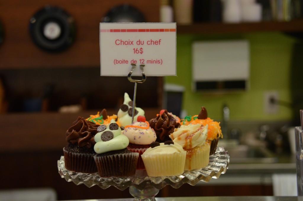 Cupcakes at Les Glaceur