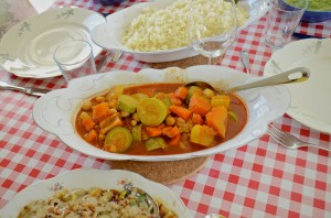 Orly's vegetable stew for couscous