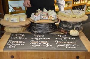 Cheese tasting at Hamel