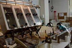 Bottling operation at Kombucha