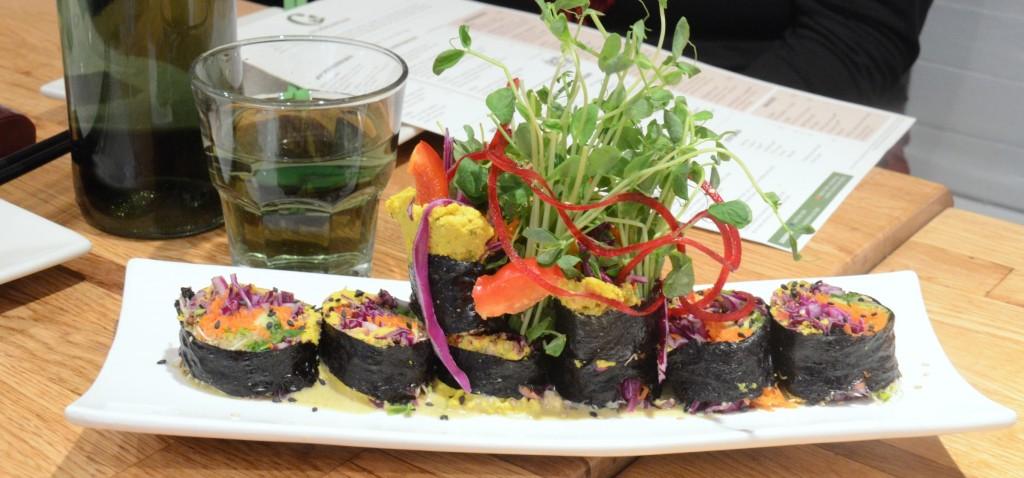 Crudessence living sushi - raw and vegan