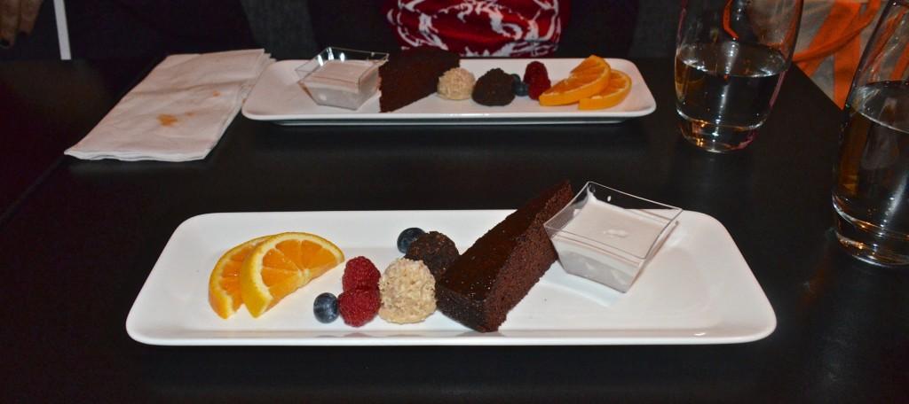 Vegan dessert at Chuchai, Montreal