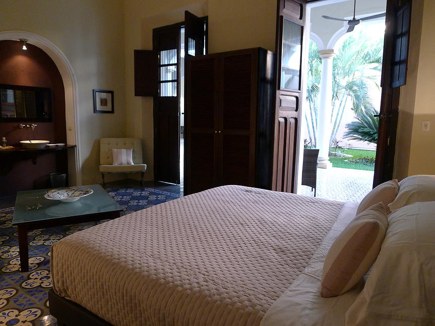 Villa Verde Merida bedroom