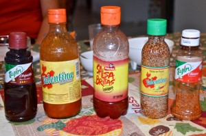 Mexican spices and sauces