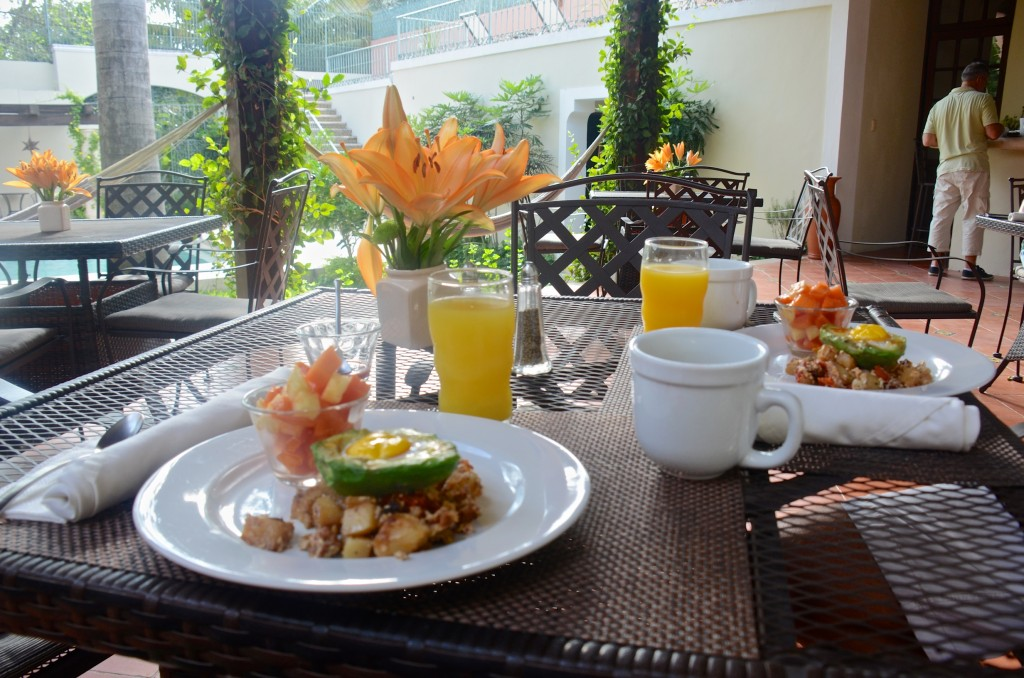 Breakfast at Villa Verde Merida