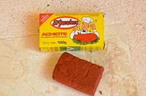 Achiote paste