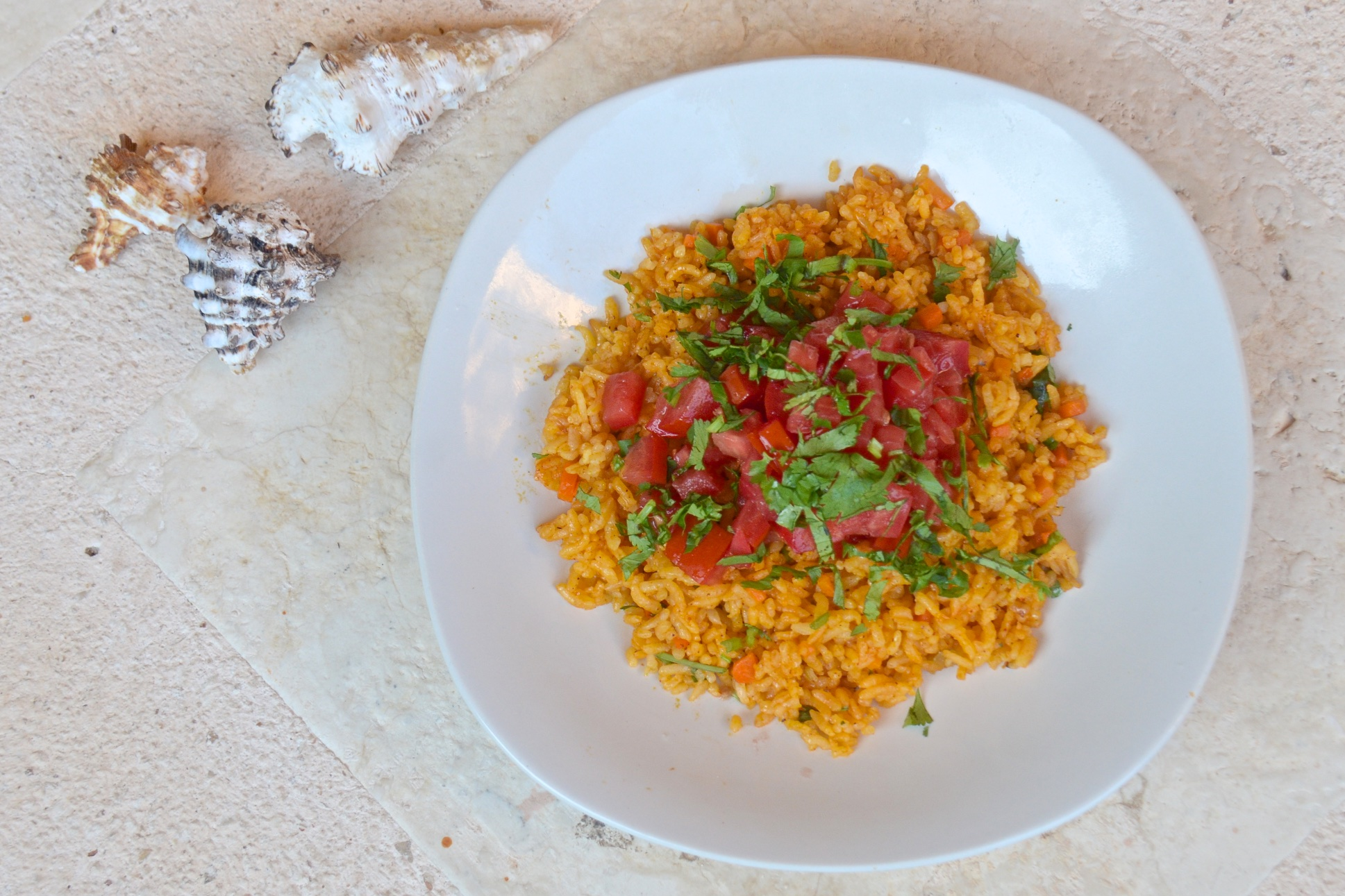 Mexican yellow rice with achiote | Olive Oil and Lemons | Dina Honke