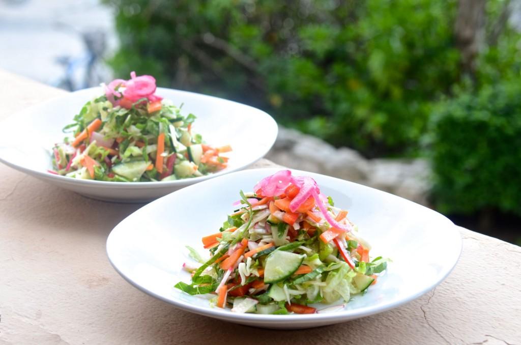DSC_046Shredded salad with lime vinaigrette