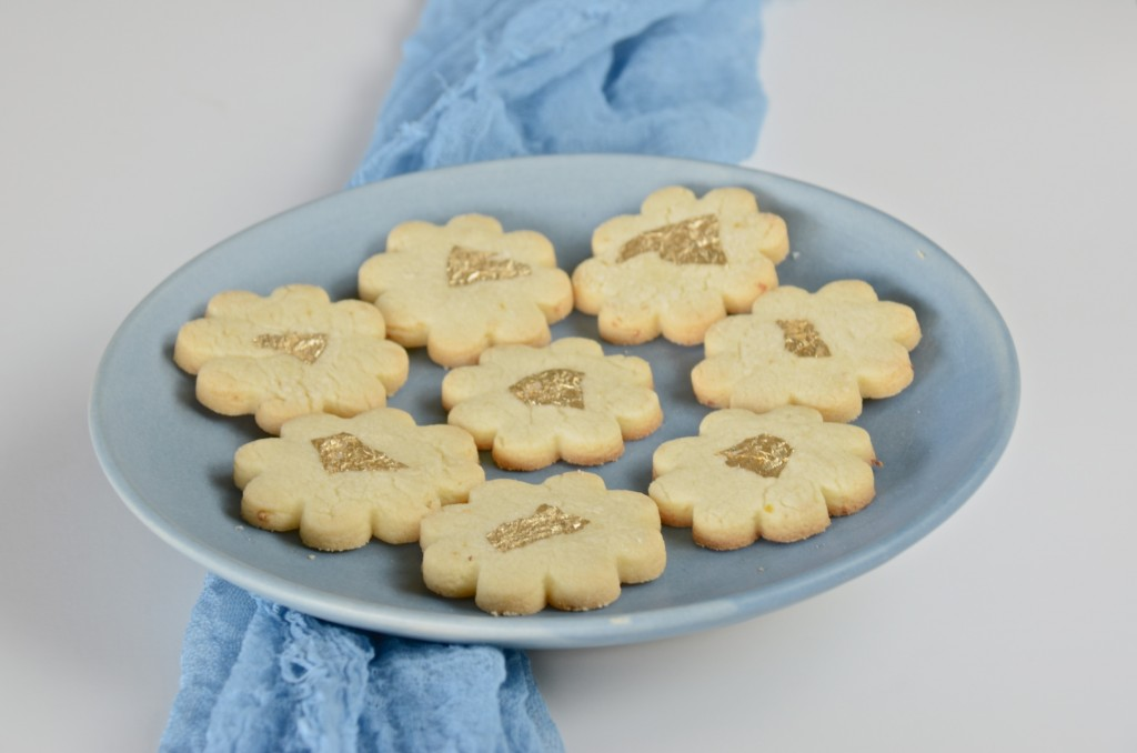 Lemon sables -French lemon butter cookies