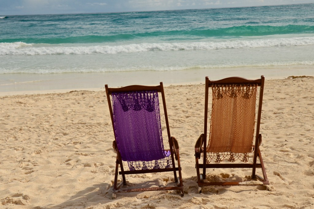 Have a seat, Tulum