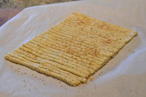 Cheese sticks dough
