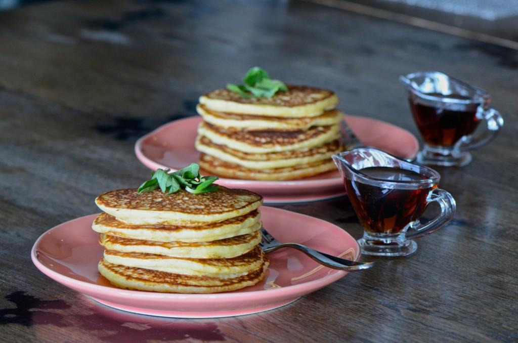 Fermented pancakes - vegan, oil and sugar free
