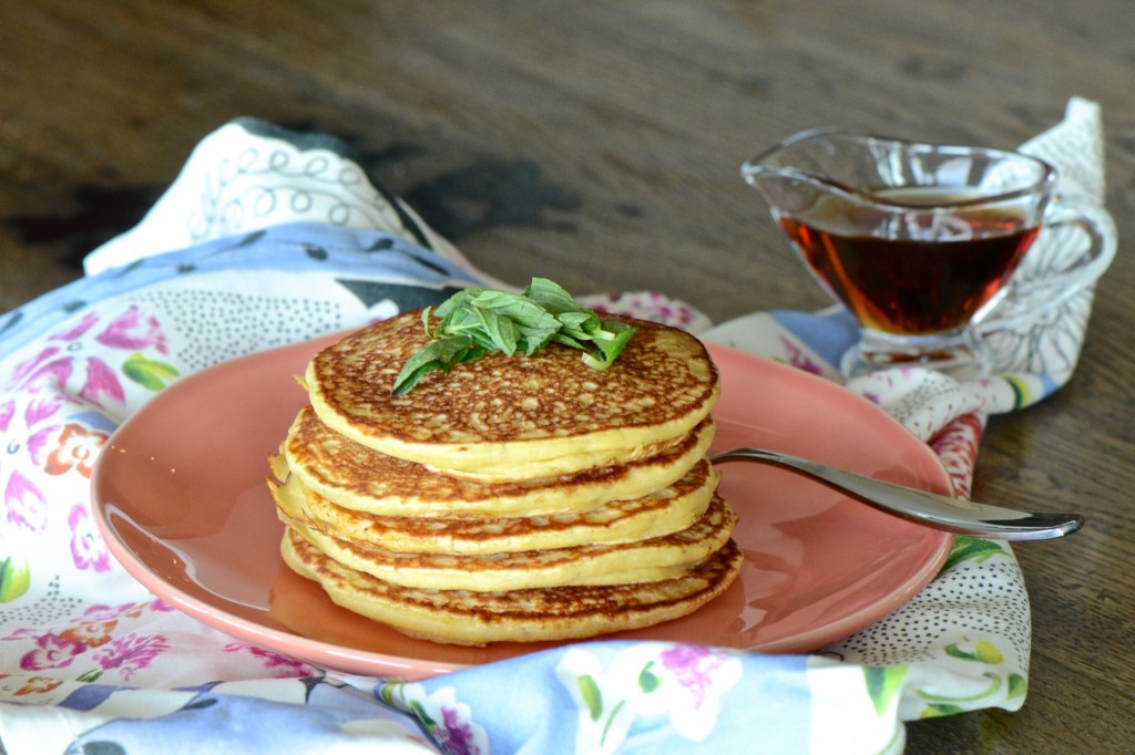 Fermented pancakes - vegan, oil and sugar free