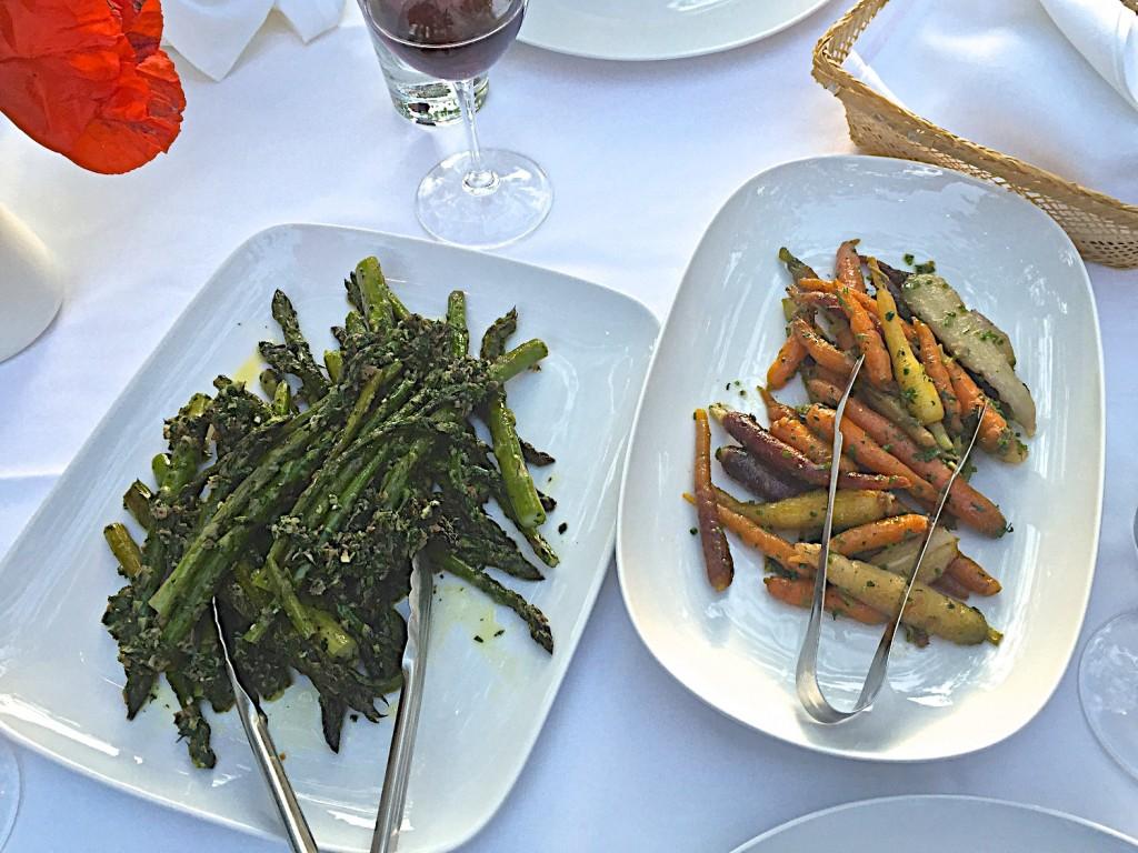 Joy road local asparagus and carrots