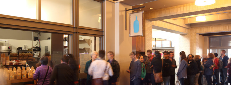 Blue Bottle Cafe at the Ferry Building