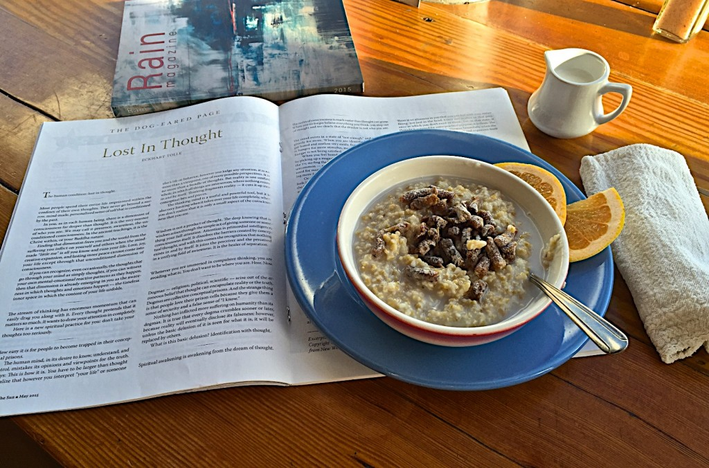 Breakfast at Blue Scorcher bakery & cafe