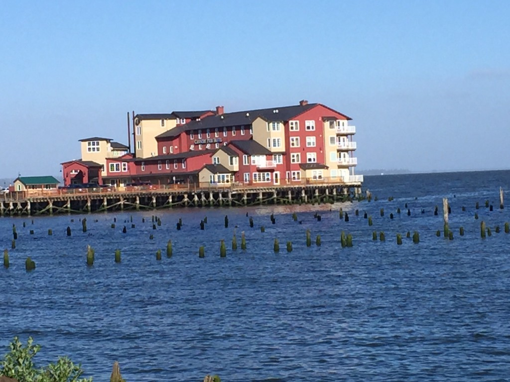 Cannery Pier hotel, Astoria