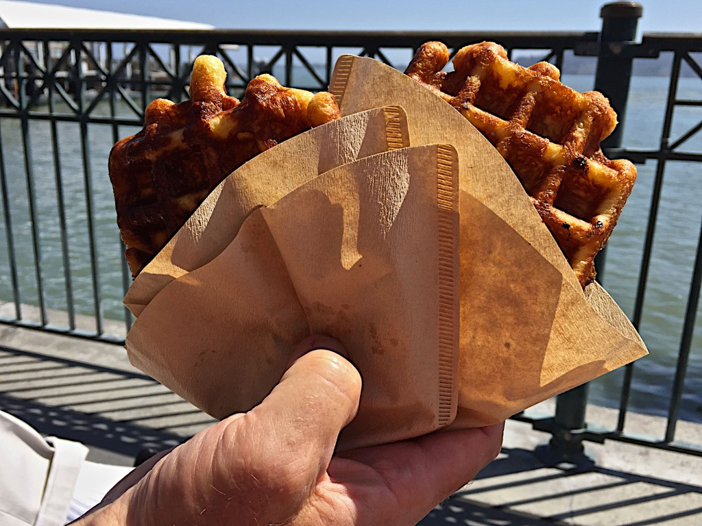 Waffles to go, Blue Bottle Coffee, Ferry Building SF