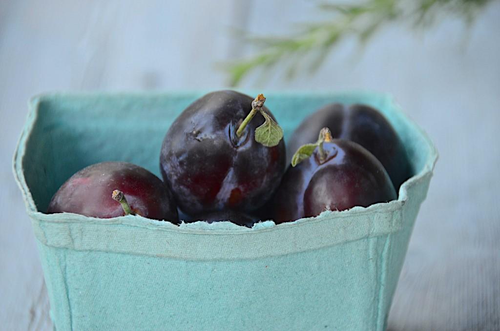 Prune plums