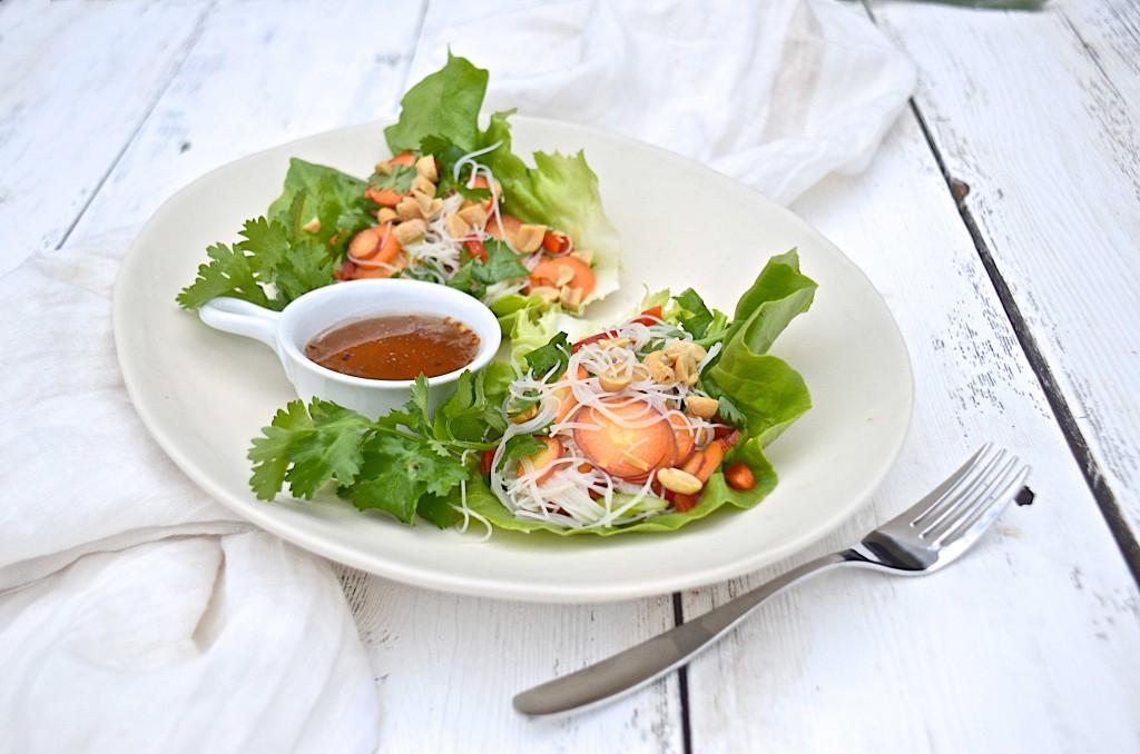 Salad rolls lettuce wraps