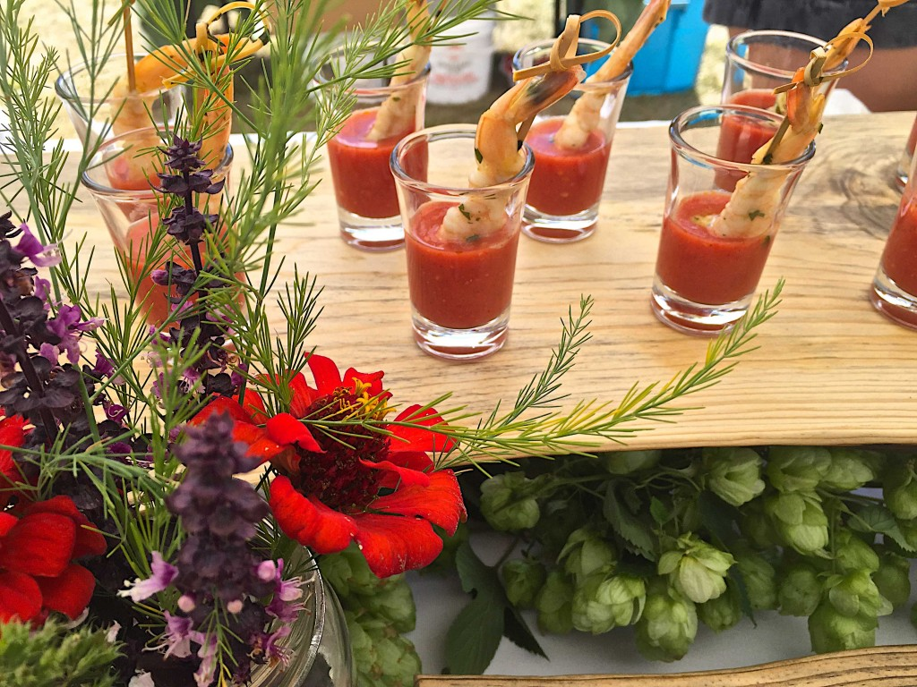 Mona's Fiery Gazpacho at Sunshine Farm Tomato Festival