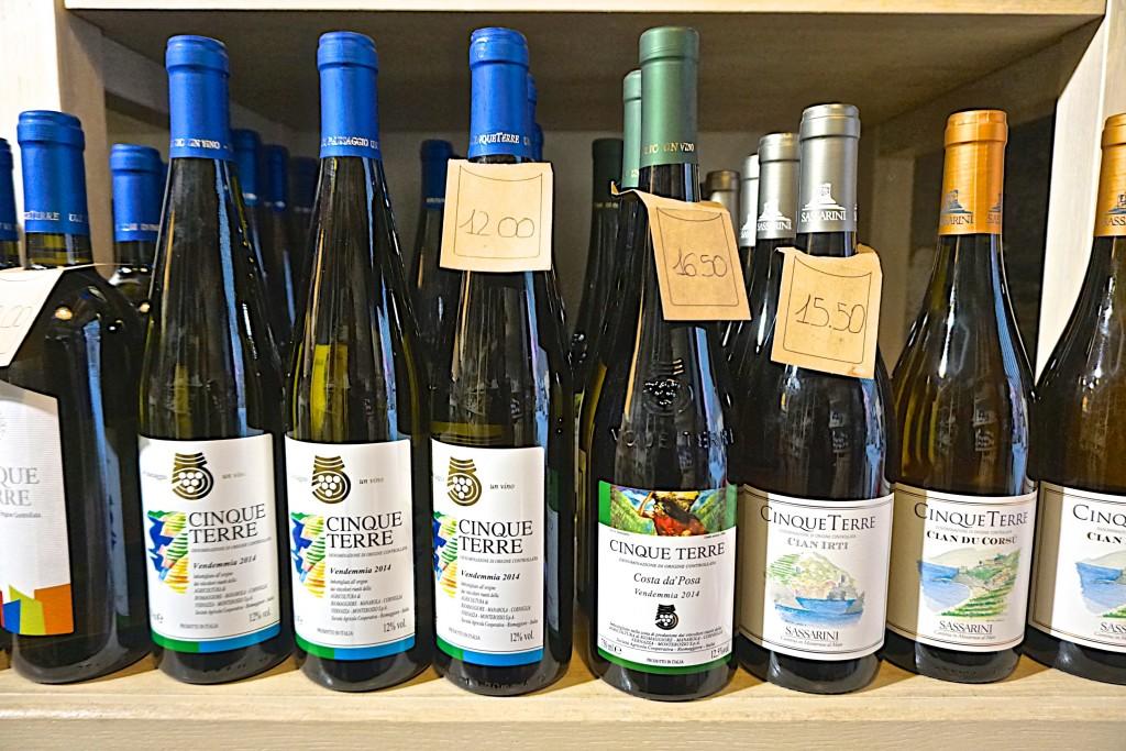 Cinque Terre wines