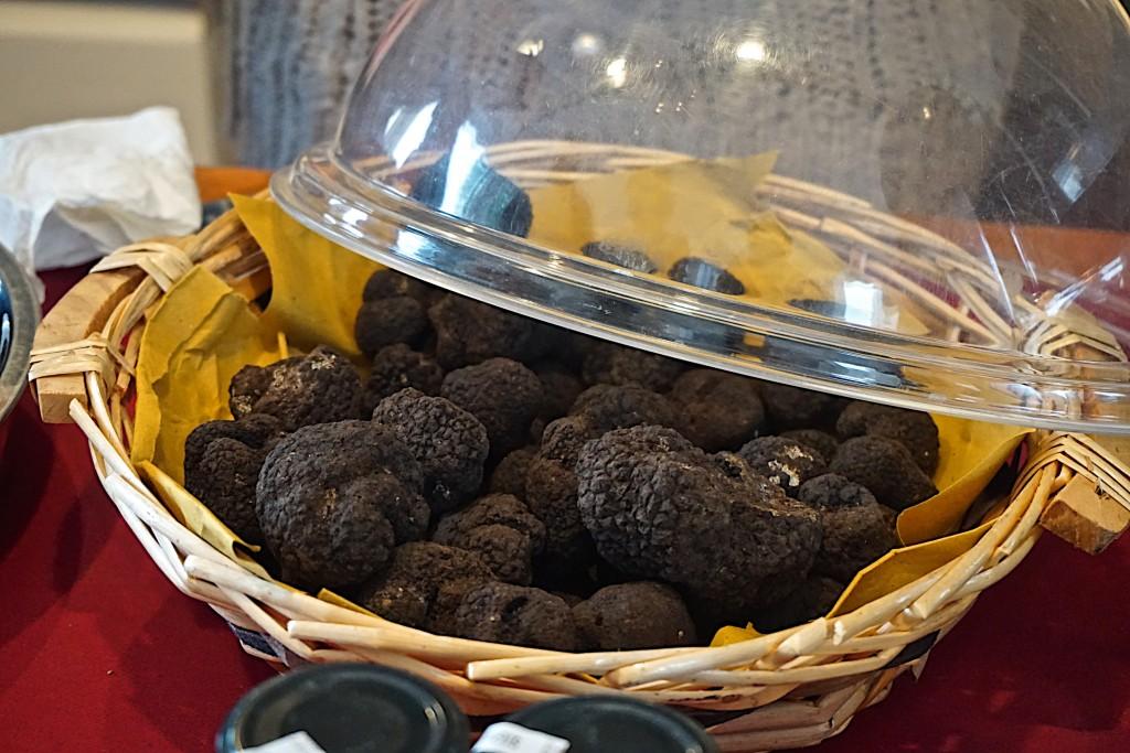 Black Truffles at San Miniato White Truffle Festival