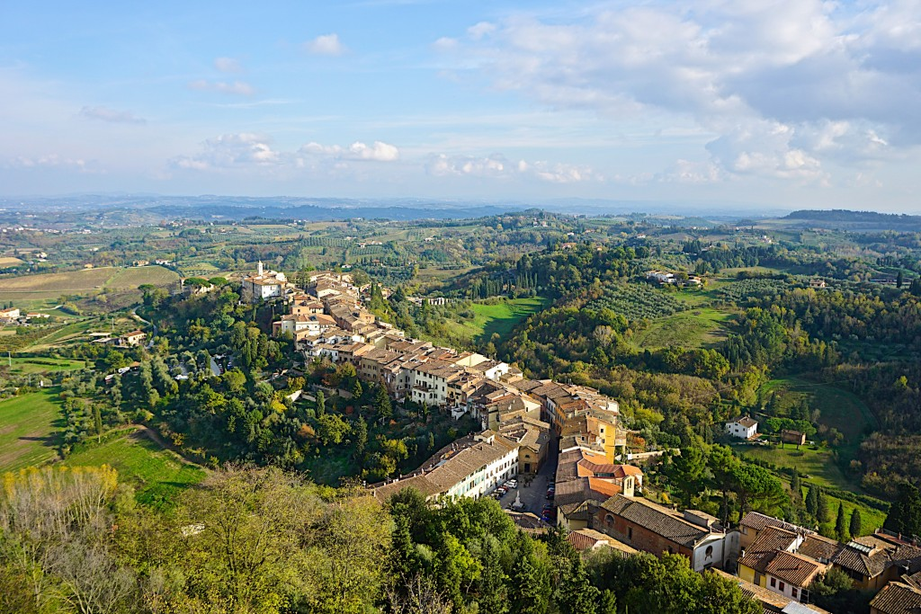San Miniato, view from the tower