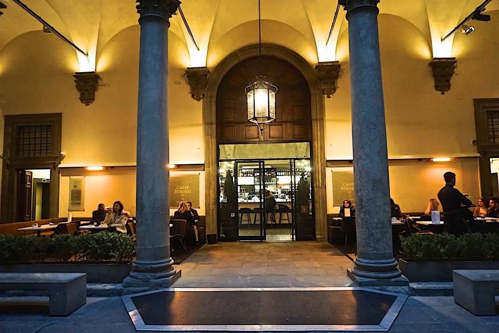 Cafe at palazzo Stotzi