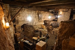 Wine cellar at the Adler