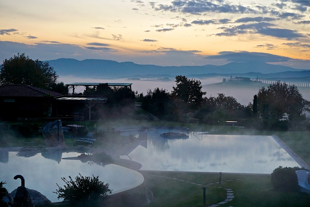 Early morning at the Adler Thermae Spa