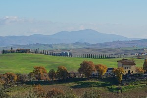 Beautiful Val d'Orcia, Tuscany
