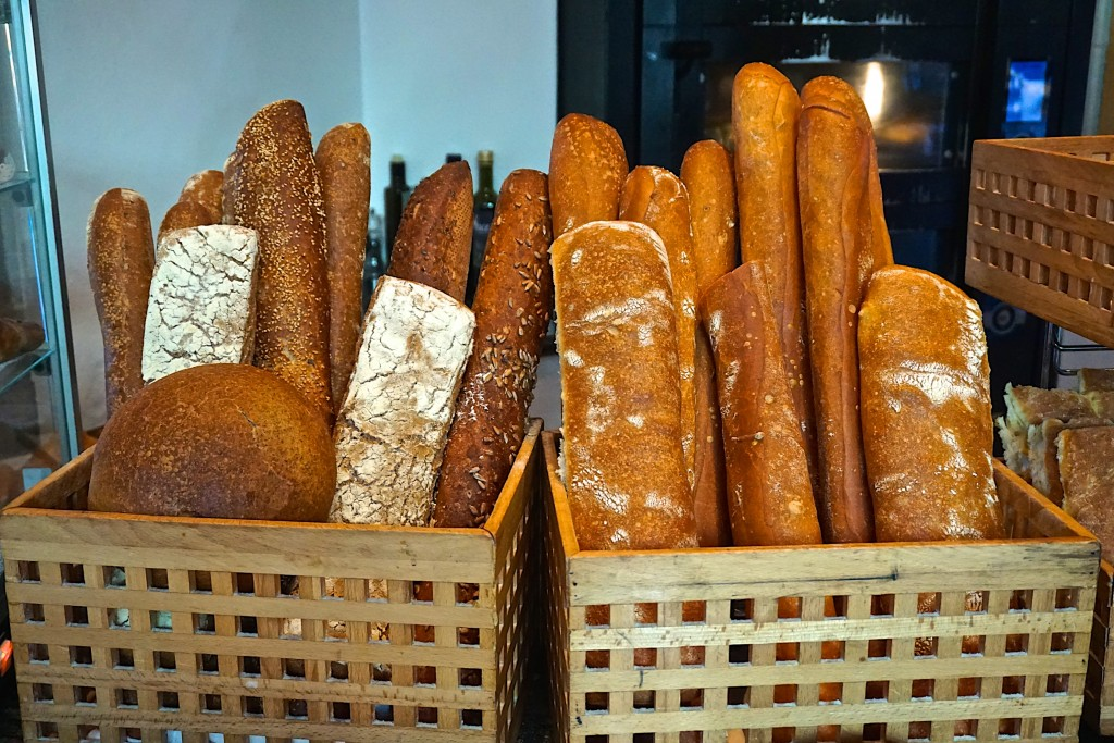 Breads made in-house