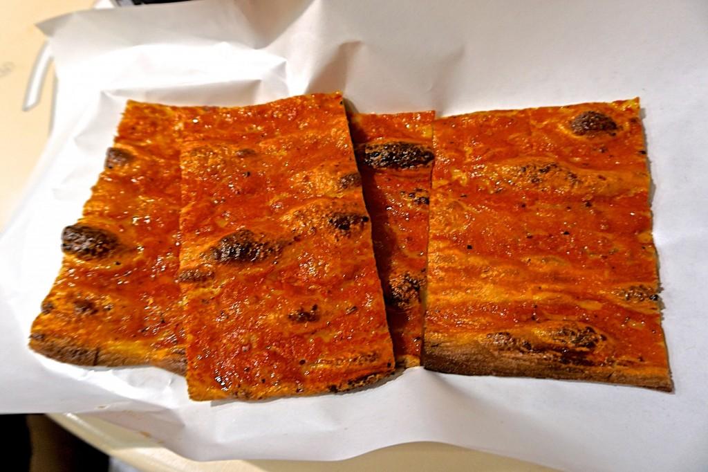 Pizza rosso, Anticho Forno Roscioli
