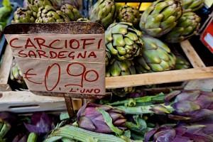 Sardenia artichokes