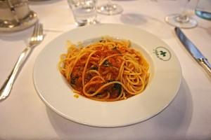 "Pasta as ""main"""