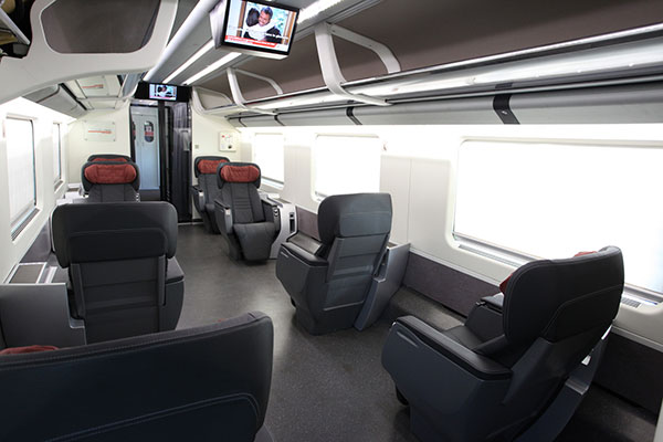 TrenItalia executive class car
