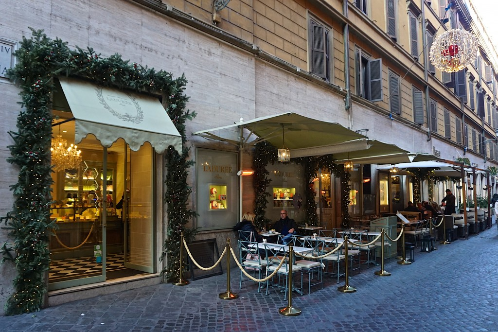 Laduree, Via Borgognona, rome