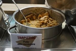 Chicken cacciatore for trapizzini