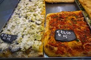 Pizza al taglio at Bonci