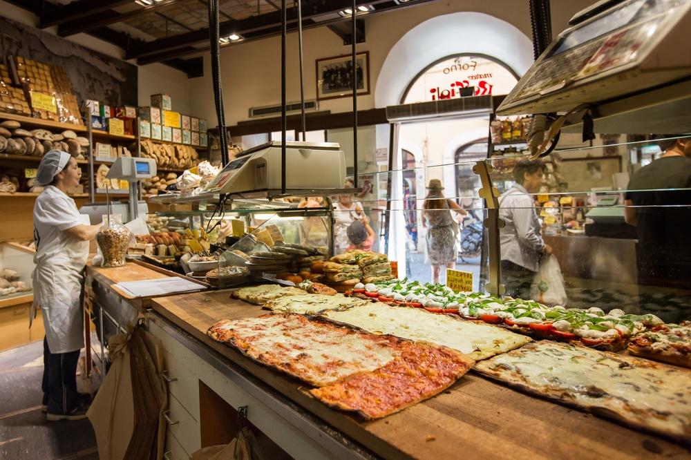 Pizza rossa at Roscioli
