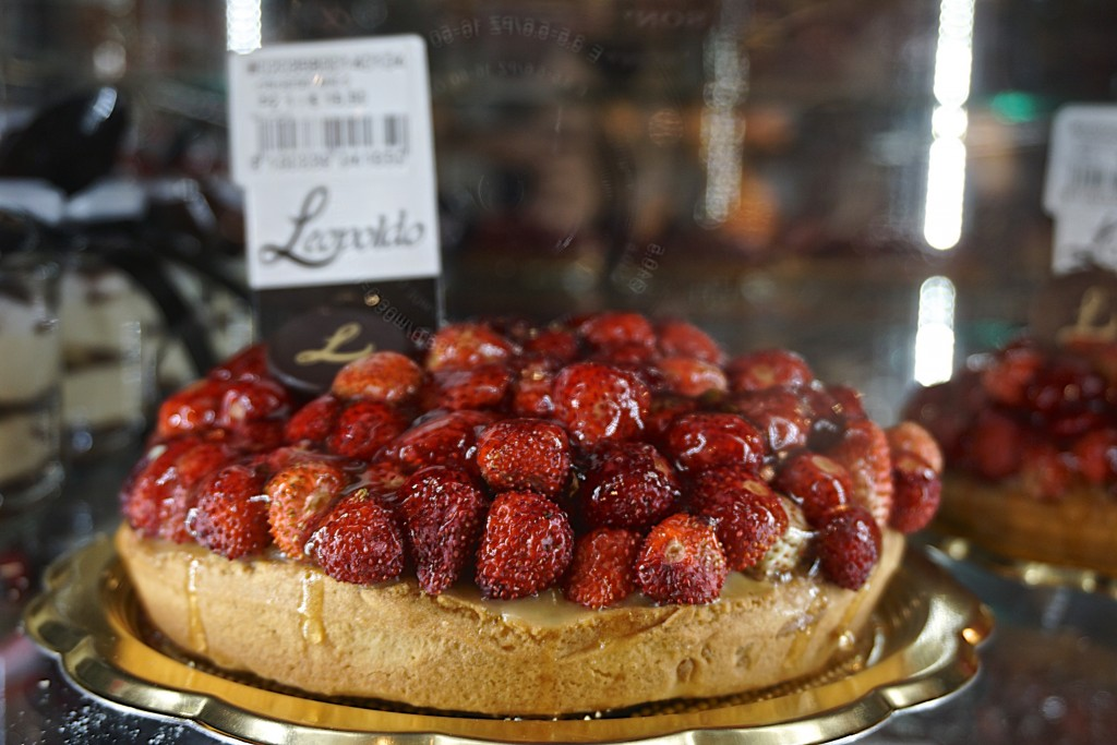 Strawberry pastry, Naples