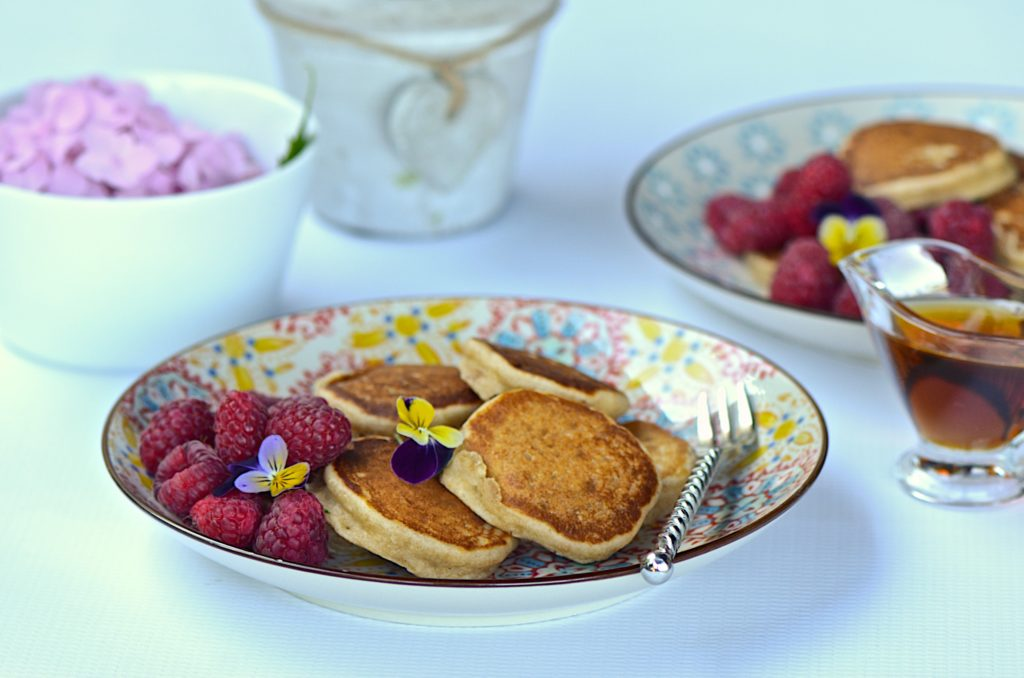 Peanut butter pancakes - vegan